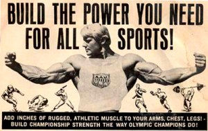 Dave Draper ad for Joe Weider
