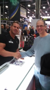 Jay Cutler and I at the 2015 Arnold.