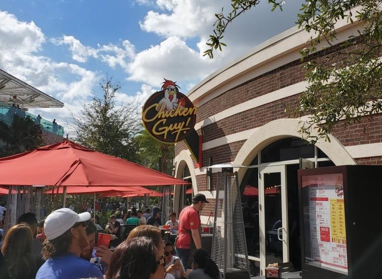 Chicken Guy at Disney Springs.