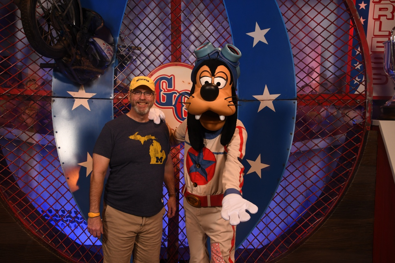 Dave and Goofy