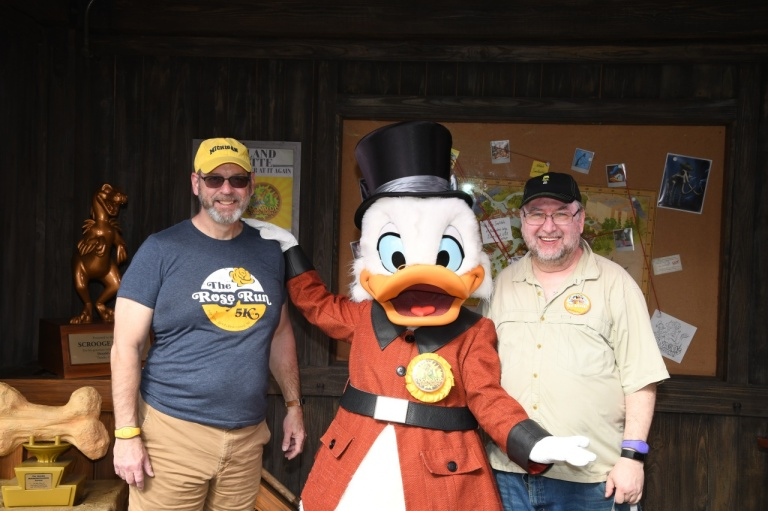 Me, Scrooge McDuck, and Bob