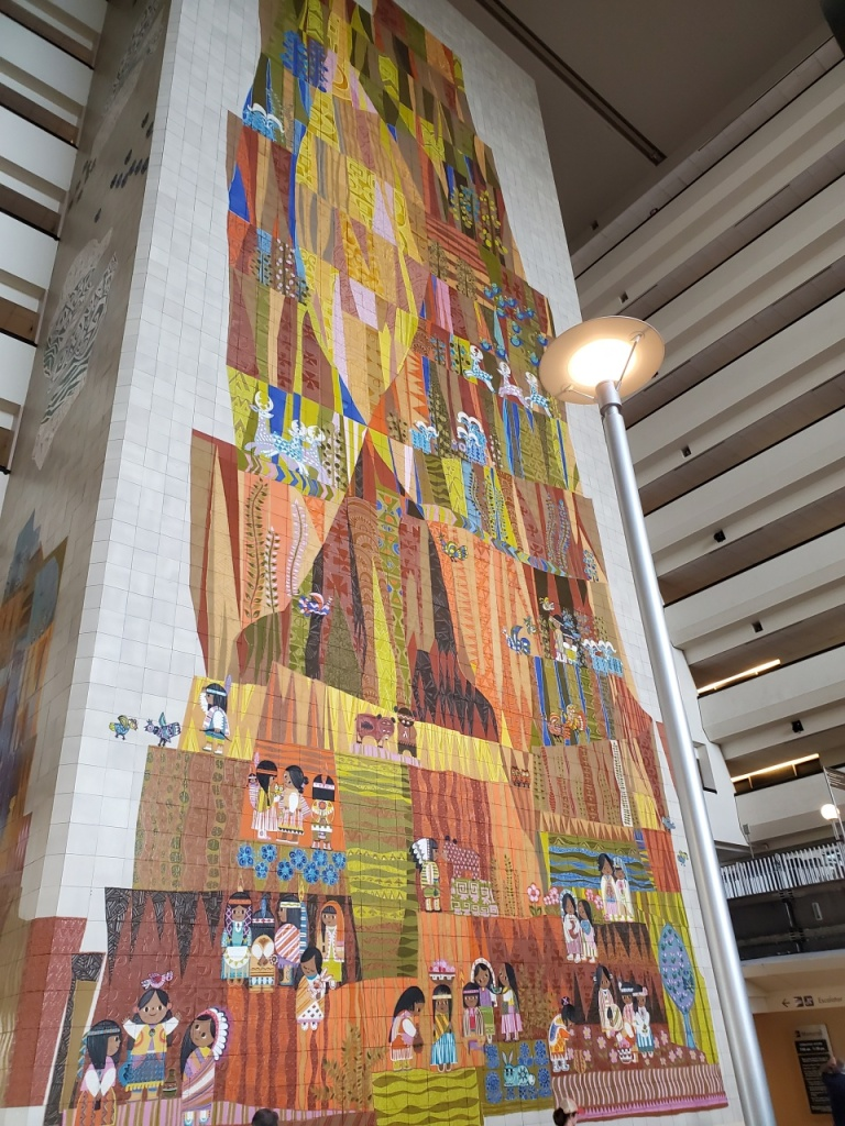 Grand Canyon mural in the Contemporary Resort.